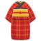Old Commoner's Kimono (Red) NH Icon.png