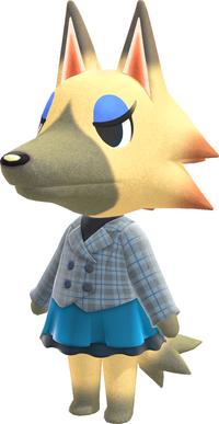 Vivian, an Animal Crossing villager.