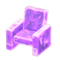 Frozen Chair (Ice Purple) NH Icon.png