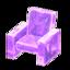 Frozen Chair (Ice Purple)