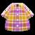 Madras Plaid Shirt (Purple) NH Icon.png