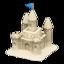 Sand Castle (White Sand)