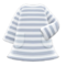 Striped Dress (Gray) NH Icon.png