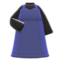 Sweetheart Dress (Navy Blue) NH Icon.png
