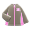 Track Jacket (Gray) NH Icon.png