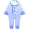 Baby Romper (Baby Blue) NH Icon.png