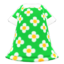 Blossom Dress (Green) NH Icon.png