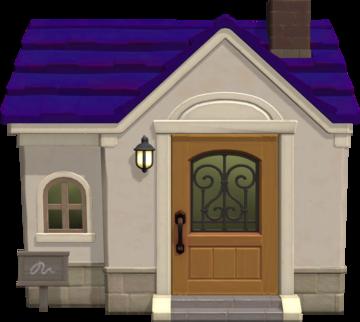 Exterior of Miranda's house in Animal Crossing: New Horizons