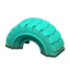 Tire Toy (Turquoise)