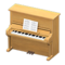 Upright Piano (Maple) NH Icon.png
