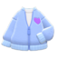 Boa Blouson (Blue) NH Icon.png
