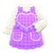 Heart Apron (Purple) NH Icon.png