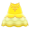 Ballet Outfit (Yellow) NH Icon.png
