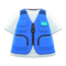 Fishing Vest (Blue) NH Icon.png