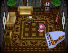 Baabara's house interior