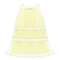 Lacy Dress (Yellow) NH Icon.png