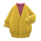 Long Chenille Cardigan (Mustard) NH Icon.png