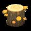 Mush Log (Yellow Mushroom)