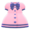 Sailor-Collar Dress (Pink) NH Icon.png