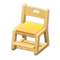 Study Chair (Natural - Yellow) NH Icon.png