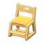 Writing Chair (Natural - Yellow)