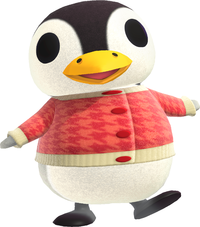Aurora, an Animal Crossing villager.
