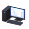 Desktop Computer (Black - Search Engine) NH Icon.png