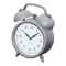 Old-Fashioned Alarm Clock (Silver) NH Icon.png