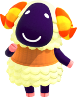 Artwork of Vesta the Sheep