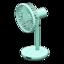 Fan (Light Blue)