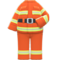 Firefighter Uniform (Flame Orange) NH Icon.png