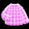 Gingham Picnic Shirt (Pink) NH Icon.png