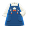 Thank-You Dad Apron (Blue) NH Icon.png