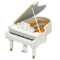Grand Piano (White) NH Icon.png