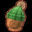 Green Pom-Pom Knit Hat PC Icon.png