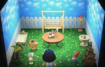 Interior of Cally's house in Animal Crossing: New Horizons