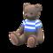 Mama Bear (Choco - Blue Stripes) NH Icon.png