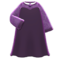 Mysterious Dress (Purple) NH Icon.png
