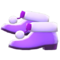 Pom-Pom Boots (Purple) NH Icon.png