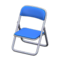 Folding Chair (Blue) NH Icon.png