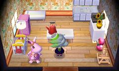 Marcie's house interior