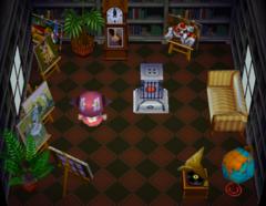 Velma's house interior