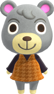 Olive, an Animal Crossing villager.