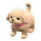 Puppy Plushie (Beige) NH Icon.png