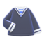 Sailor-Style Shirt (Navy Blue) NH Icon.png