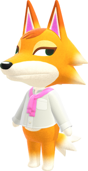 Chief, an Animal Crossing villager.