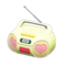 Cute Music Player (Yellow) NH Icon.png