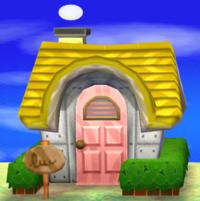 Victoria's house exterior