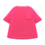 Pocket Tee (Pink) NH Icon.png
