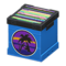 Record Box (Blue - Sunset) NH Icon.png